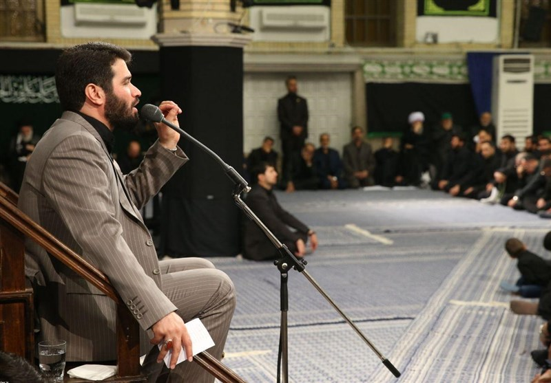 مداحی «میثم مطیعی» در حسینیه امام خمینی(ره) + فیلم