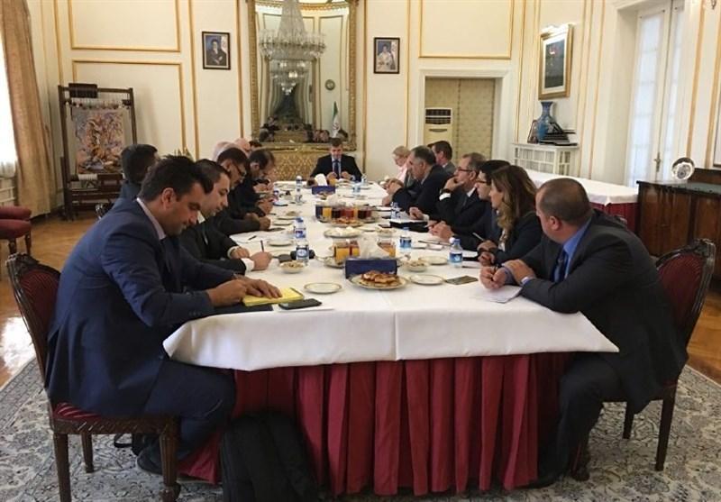دیدار رئیس پلیس مبارزه با مواد مخدر ایران با افسران رابط کشورهای اروپایی و بالکان