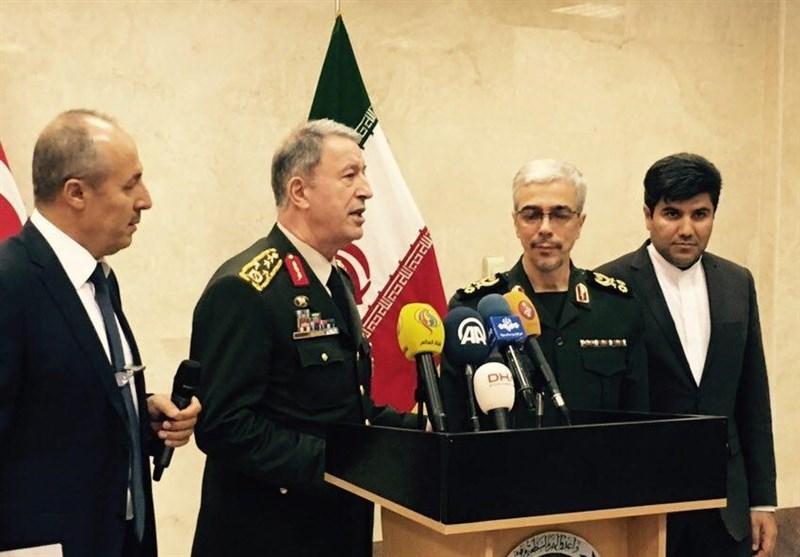 کنفرانس خبری ارتش ترکیه باقری