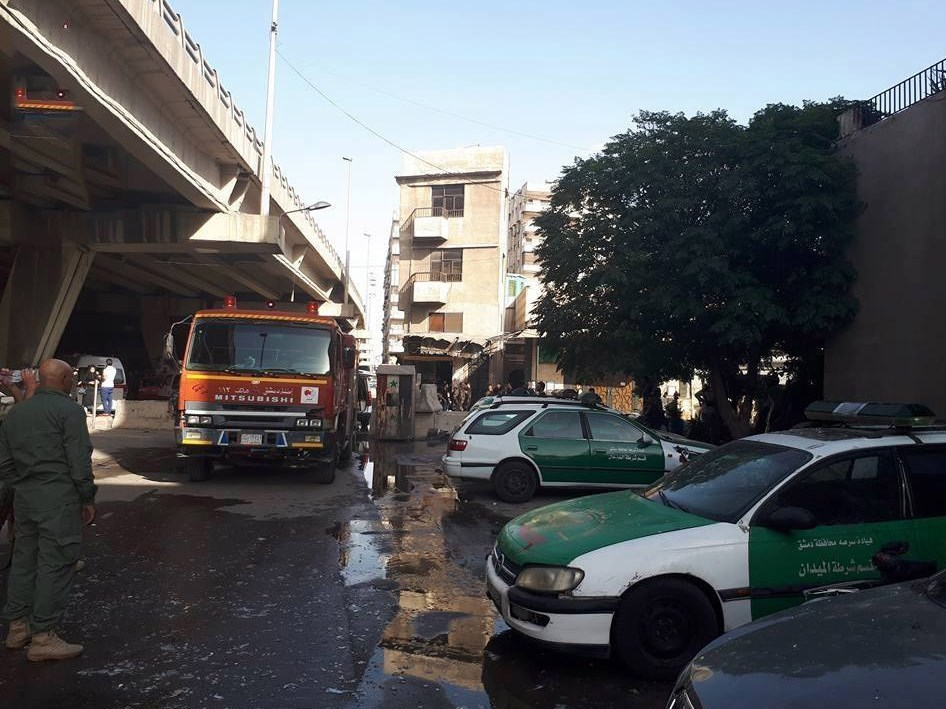 وقوع 3 انفجار انتحاری در دمشق