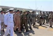 فرمانده کل ارتش از تیپ سوم تکاوران دریایی نداجا بازدید کرد + تصاویر