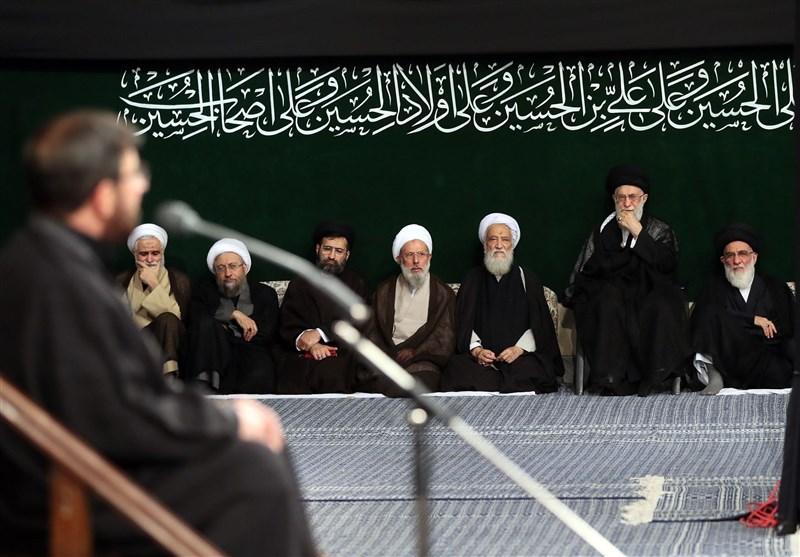 مداحی «مرتضی طاهری» در آخرین شب مراسم عزاداری در حسینیه امام خمینی(ره) + صوت