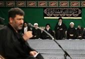 مرثیهسرایی «سعید حدادیان» در حسینیه امام خمینی(ره) + فیلم و صوت