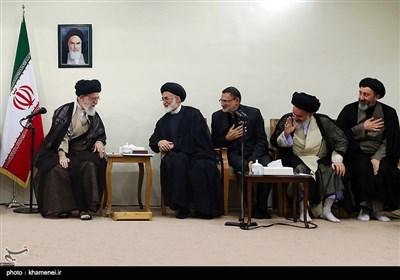 الامام الخامنئی یستقبل مسؤولی الحج فی ایران