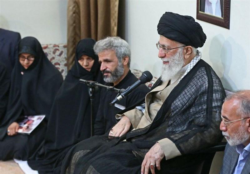 رهبر انقلاب شهید حججی