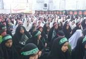 تجمع بزرگ رهروان زینبی در قم برگزار شد