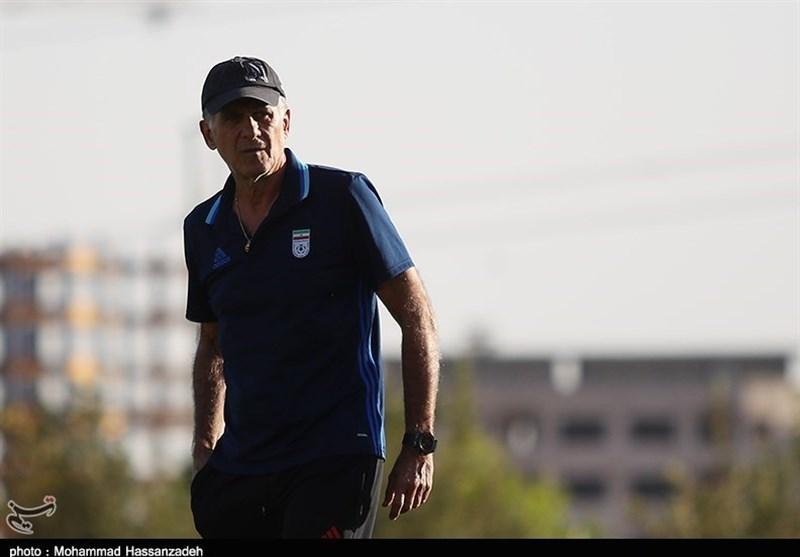 حضور کیروش در تمرین تیم فوتبال جوانان ایران + عکس