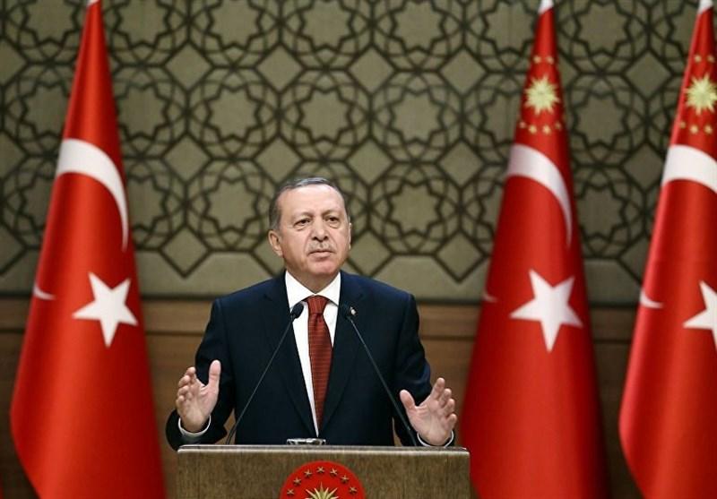 امریکا اور اس کے اتحادی کردوں کو ہتھیار فراہم کررہے ہیں، اردوغان