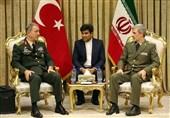 Generals Discuss Iran-Turkey Cooperation against Secession Bids