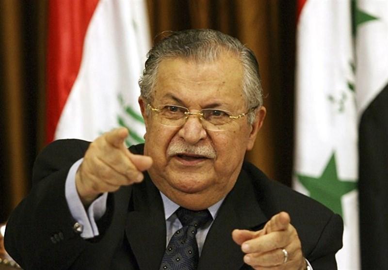 """عراقی حکومت کا سابق صدر """"طالبانی"""" کے انتقال پر 3 روز سوگ کا اعلان"""