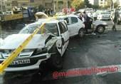 شهرکرد  تصادف خونین در چهارمحال و بختیاری; 14 نفر کشته و زخمی شدند