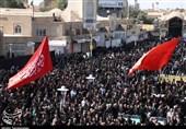 اجتماع بزرگ عاشورائیان در حسینیه ایران برگزار شد