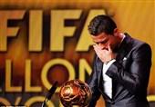 توپ طلای رونالدو 530 هزار پوند فروش رفت