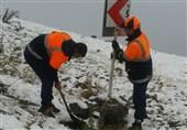 دستگاههای اجرایی اردبیل برای مقابله با حوادث ناشی از بارش برف در آماده باش هستند