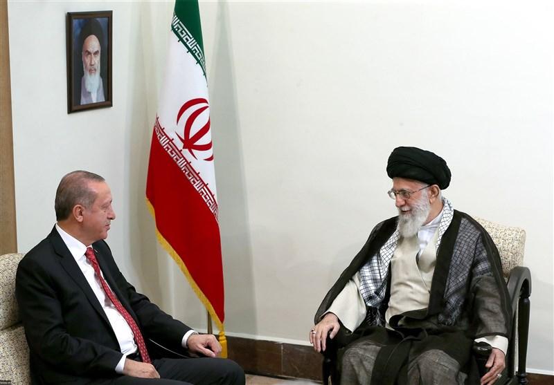 رئیسجمهور ترکیه با امام خامنهای دیدار کرد