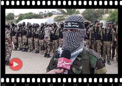 بالفیدیو.. المقاومة فی غزة تجری مناورة بالذخیرة الحیة