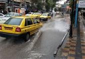 اصفهان| بیش از 140 حادثه آبگرفتگی در باران دیروز اصفهان ایجاد شد