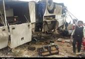 واژگونی اتوبوس در سمنان 2 کشته و 28 مصدوم برجای گذاشت
