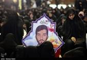 مراسم هفتمین روز خاکسپاری شهید مدافع حرم محسن حججی