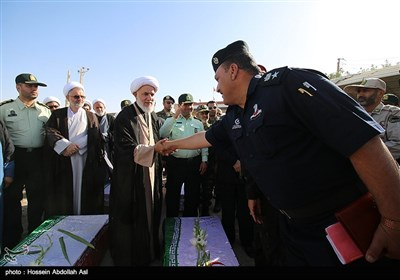 ورود 119 شهید تازه تفحص شده جنگ تحمیلی به کشور - شلمچه
