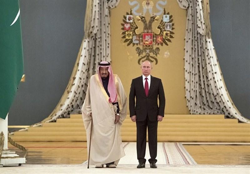 پوتین و پادشاه سعودی