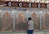 نصب ضریح جدید حرم علی بن مهزیار اهوازی