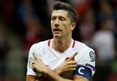 لواندوفسکی در فاصله یکقدمی تاریخسازی با تیم ملی لهستان
