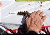 وداع با 119 شهید تازه تفحص شده به روایت تصویر