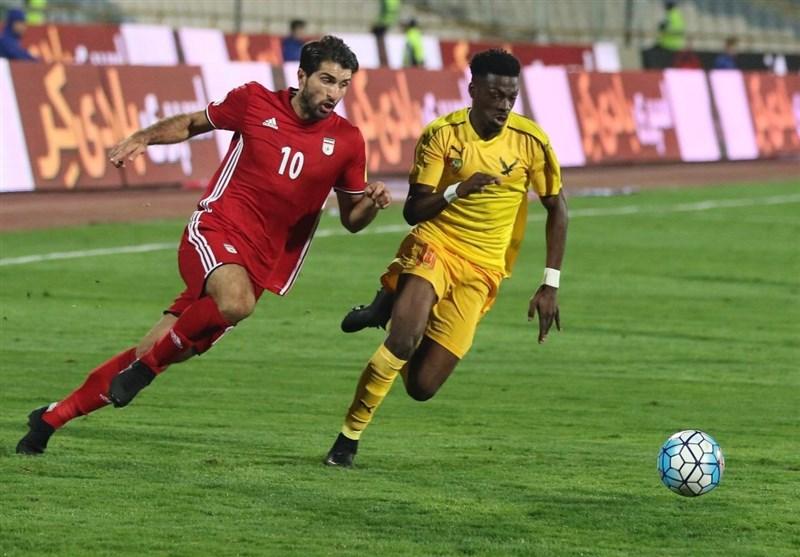 برتری تیم ملی ایران برابر توگو با دَبل انصاریفرد