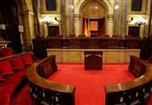 دادگاه اسپانیا نشست پارلمان کاتالونیا را تعلیق کرد
