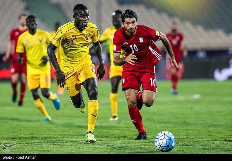Iran Football Team Defeats Togo in Friendly