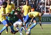 نبرد برزیل و بولیوی برنده نداشت