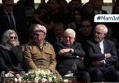 حضور ظریف در مراسم تشییع جلال طالبانی+ تصاویر