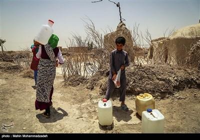 بحران آب در روستای تخت شاه - سیستان