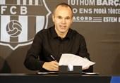 اینیستا: میخواهم به انجام کارهای مهم با بارسلونا ادامه بدهم