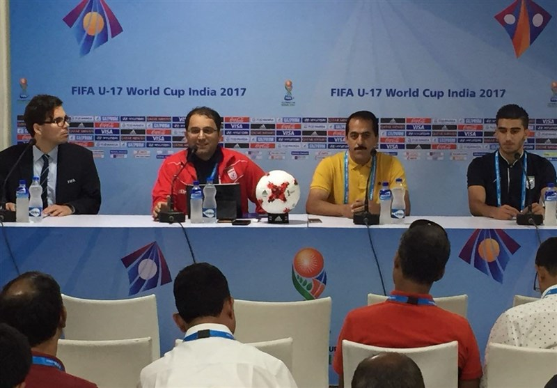 Iran Coach Hoping for A Good Start to FIFA U-17 World Cup