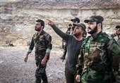 بازدید دبیرکل نجباء از خطوط مقدم درگیری با داعش + تصاویر