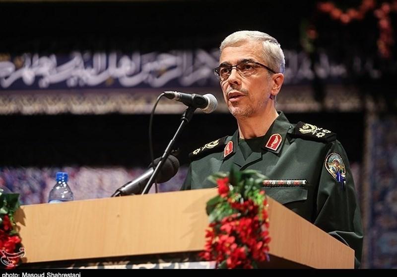 سرلشکر باقری: یمنیها به توان مقابله با هواپیماهای راهبردی دشمن دست پیدا کردند/ نتیجه جنگ با ایران شکست و اسارت برای دشمن است