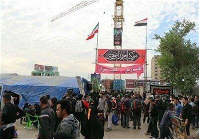 اخبار اربعین 98| ویزیت روزانه 2500 زائر ایرانی و خارجی در موکب احمدبنموسی(ع) درکربلا