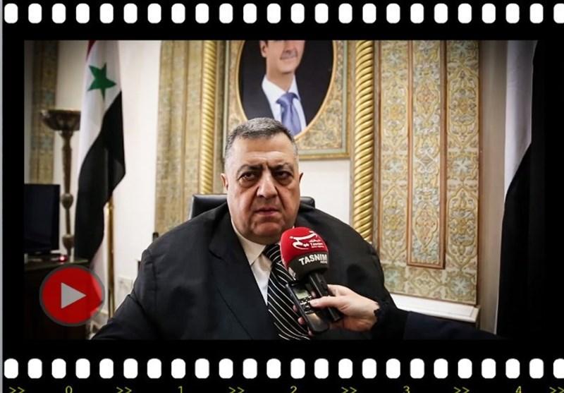 ویدئو/ رئیس پارلمان سوریه از پیام لاریجانی میگوید/ ارزیابی موضع قدرتهای مخالف اسد