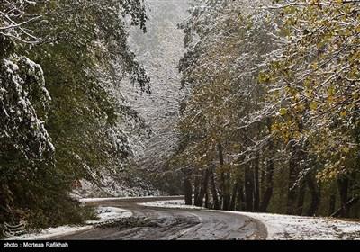 ایران کے صوبہ گیلان میں سال کی پہلی برف باری