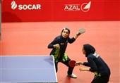 ندا شهسواری قهرمان تنیس روی میز تور ایرانی شد