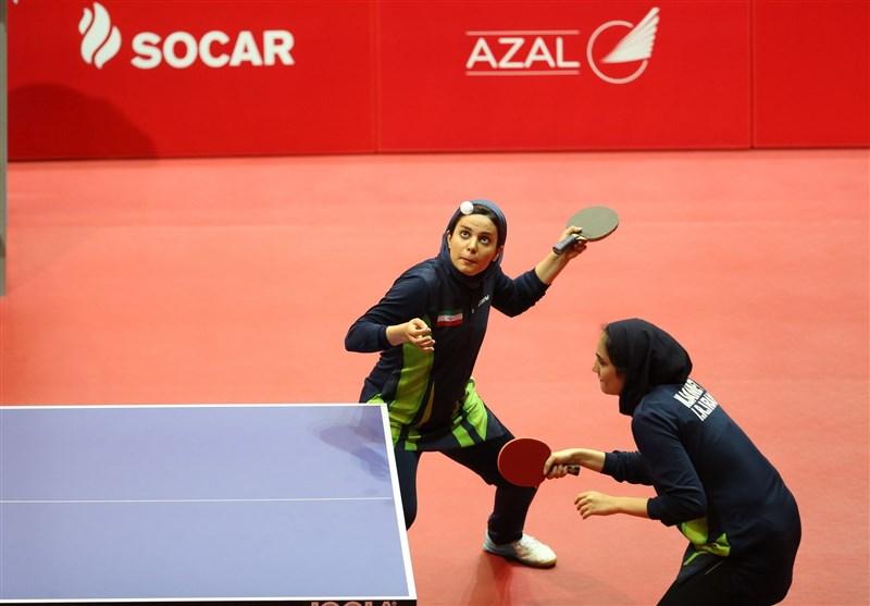 اردوی مشترک تیمهای تنیس روی میز بانوان ایران و ترکیه در تهران