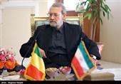 دیدار رئیس مجلس مالی با علی لاریجانی
