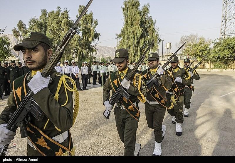 صبحگاه مشترک نیروی انتظامی - بجنورد و لامرد