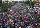 رویارویی طرفداران دولت پاکستان و احزاب اپوزیسیون در اجتماعات بزرگ خیابانی