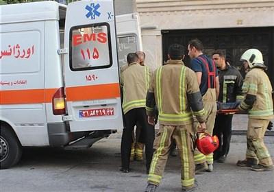 سقوط همزمان 2 مرد به چاهک آسانسور + تصاویر