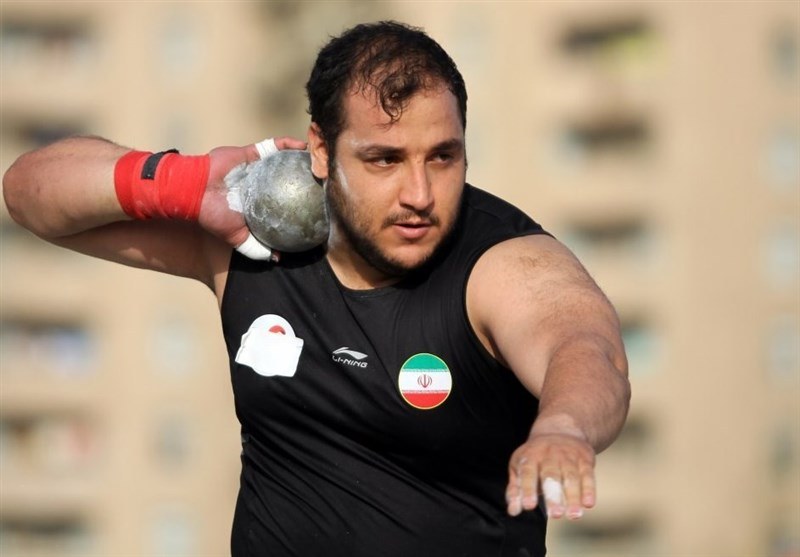 Iranian Shot Putter Samari Takes Gold at Asian Indoor Championships