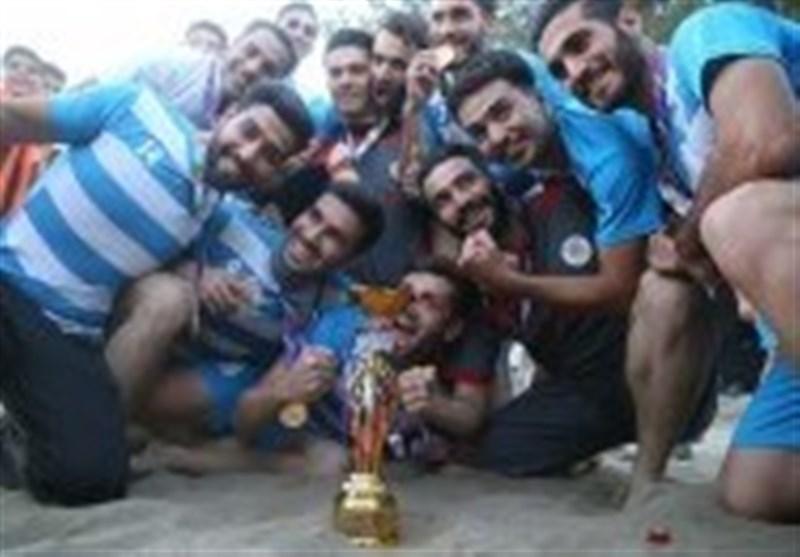 شهرداری سمنان به لیگ برتر فوتبال ساحلی کشور راه یافت