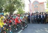 چهارمین مرحله تور دوچرخه سواری ایران-آذربایجان استارت خورد